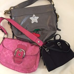 COACH Hand Bags Lot Of 3!